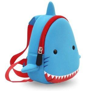 Small Kids Shark Backpack NWT - single strap